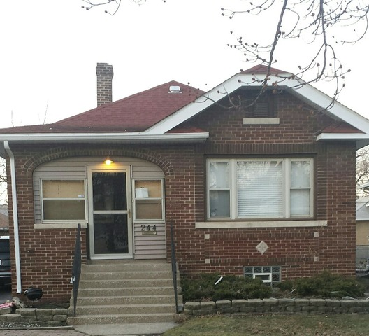 244  Ruth St, Calumet City, IL 60409