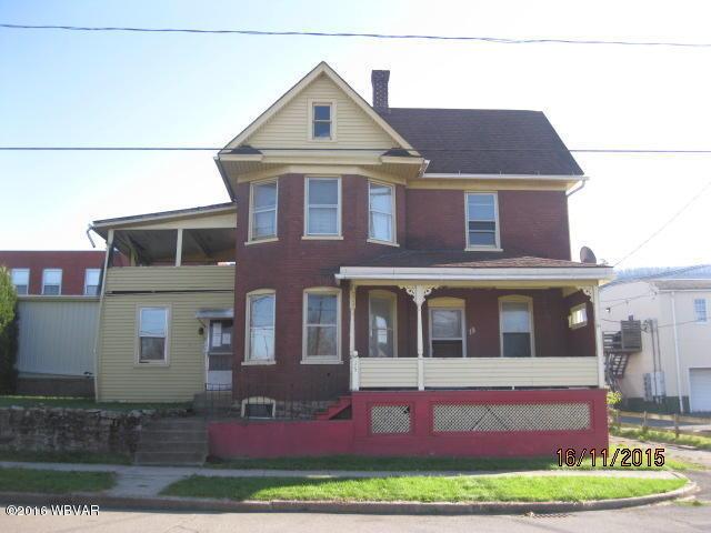 15 W Second Ave, South Williamsport, Pennsylvania 17702