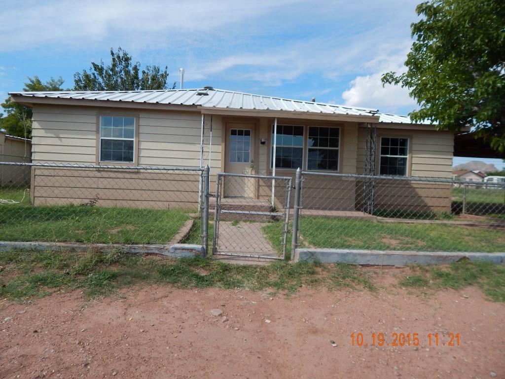 303 Culberson St., Van Horn, TX 79855